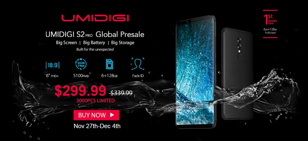 UMIDIGI S2 Pro 4G Phablet