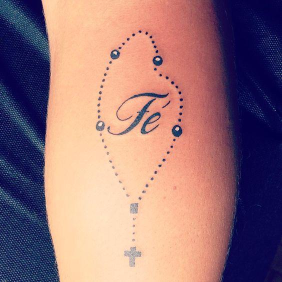 tatuagem de terço