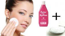 limpeza leite de rosas com bicarbonato