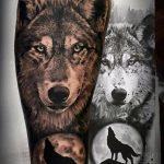 tatoo de lobo