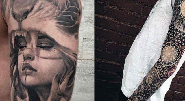 tatoo sombreada
