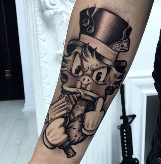 Tatuagem Do Tio Patinha Desenhos Para Baixar Confira