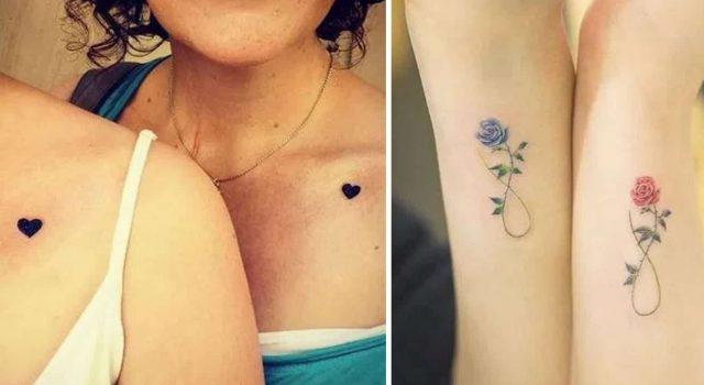 tatuagem de mae e filha